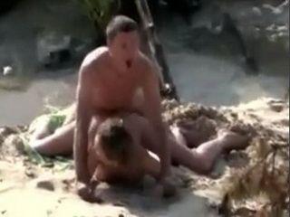 Drunk Couple Caught Having Sex On The Beach