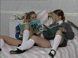 Lesbians Teens Fay and Estelle xLx