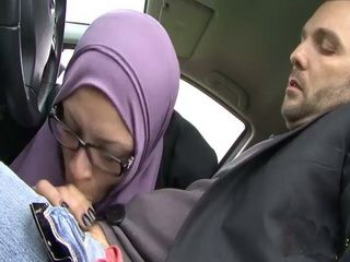 Hijab Arab Girl Sucks And Anal Fuck Strangers Cock For A Free Ride Home
