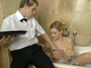 Waiter Wants To Fuck Dizzy MIlf Hotel Guest