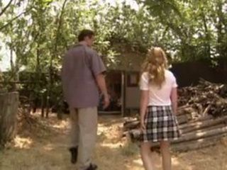 Pervert Guy Lured Naive Teen In Old Abandoned Cottage To Fuck Her