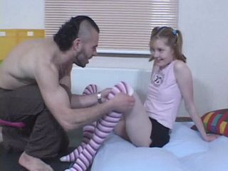 Elder Disturbing Stepbrother Seduces And Fucks His Sweet Litlle Stepsister In Her Tiny Pussy And Ass