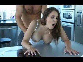 Slutty Flexible Brunette With Big Joggs Fucked Hard