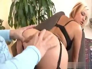 Hot Bitch Gets Her Tits Sucked And Big Cock Pumping Her Pussy With Jizz