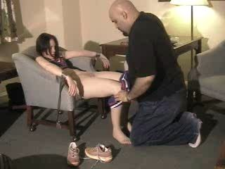 Black Muscular Guy Tied Up Cheerlerader Girl And Fuck Her Several Times Against her Will