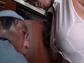 Handyman Tried To Control Himself About Big Boobed Housewife But Temptation Was Huge