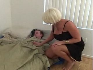 Taking Advantage Of Her Sleeping Stepson
