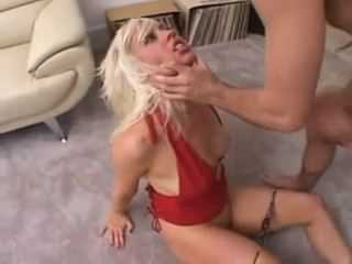 Filthy Blonde Suffered Ruination Of Her Asshole