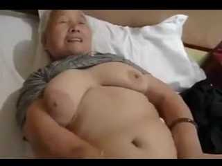Asian Granny Fucks Like A Young Girl
