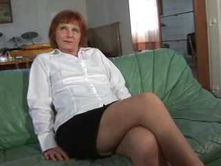 Mature Woman Can Wait To See That Big Cock In Her Pussy