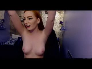 Ginger Babe Has A Big Toy And A Wet Pussy