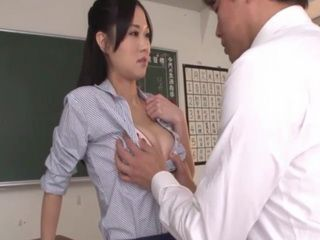 Seductive Milf Teacher Swooped By Immodest Student After Class