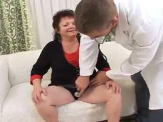 Doctor Has A Strange Way Of Examination To Mature Woman
