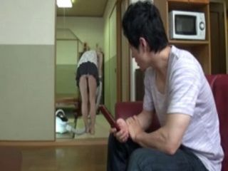 Maids Flashing Ass While Cleaning A House Made Shy Teen Boy To Make A Final Move