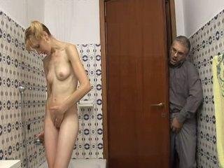 Skinny Girl Should Lock Up Bathrooms Door Dammit