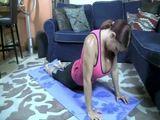 Super Huge Tits Stepmom Does Yoga A