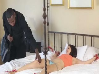 Bondage Teen Fucked By Big Black Cock
