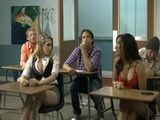 Naughty Schoolgirls Gone Wild In Classroom
