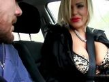 Amazing Busty Milf Swooped Sons Friend In A Car