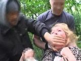 Helpless Old Granny Abused By Two Perverts In The Park