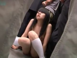 Coed Japanese Teen Groped Abused and Violated By Buch of Guys In Bus part 2