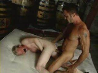 Bound Gay Slave Roughly Anal Fucked Bareback
