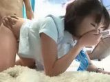 Japanese Schoolgirl Came For A Massage But Gets Hard Fucked Instead