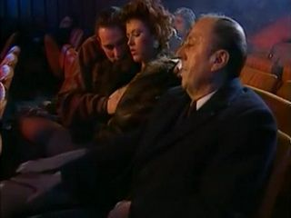 Italian Orgy In Movie Theater
