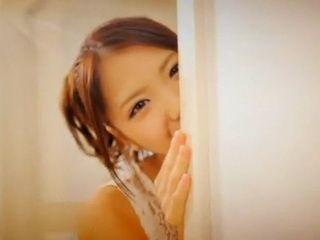 Teen Cutie Ena Sakura Gets Spitroasted By 2 Guys