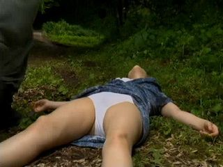 Knocked Out Peasant Woman Gets  Fucked In The Forest Outside Her Village