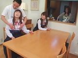 Japanese Teacher Abuses Two Schoolgirls in Front Of Their Mom