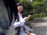 Japanese Teen Gets Approached In A Park And Offered A Massage