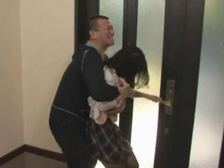 Japanese Busty Housewife Tried To Escape From Crazy Neighbor Who Attacked Her At Her Home While Hubby Is At Work