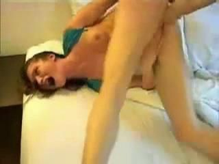 Teens Ass Gets Completely Destroyed As She Is Fisted And Fucked At The Same Time