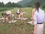 Japanese Suck Orgy On The Field Broadcasted Live