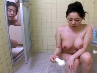 Japanese Mom Forgot To Lock The Door While Showering