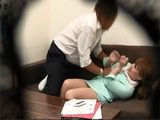 Huge Titted Japanese Secretary Gets Violated By Her Boss In The Office And Secretly Taped