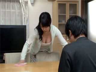 Japanese Housewifes Melons Was Just To Much To Resist For A Boy
