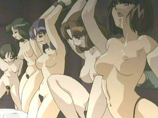 Bondage Hentai Girls Group Fucked