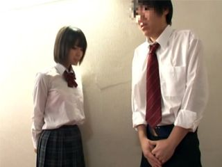 Japanese Schoolgirl Fucked Two Of Her Shy Classmates In A Toilet