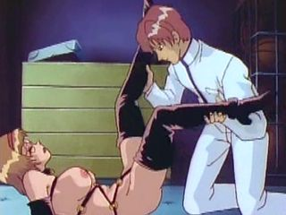 Bondage Hentai Girl Handjob And Hard Fucked