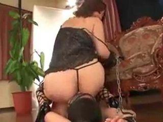 Japanese Domina Pissing And Fucking Japanese Boy