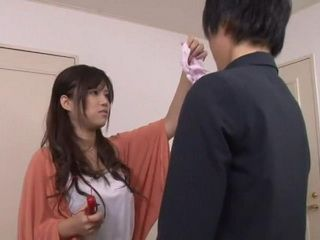 Huge Titted Japanese Teen Caught Her Brothers Friend Going Trough Her Stuff In Her Room