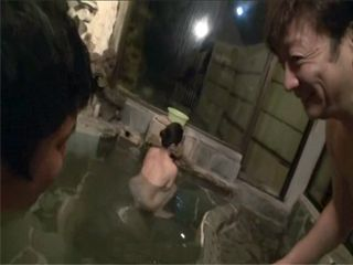 When He Noticed Japanese Wife Alone In A Pool At Spa Center Dad Asks His Son To Go To Some Other Treatment
