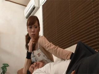 While Helping Young Boss Housemaid Noticed A Boner In His Pants