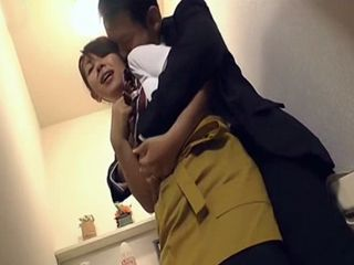 House Maid Got A Bit Affraid From Her Agressive Boss But Later She Enjoyed Fucking Him