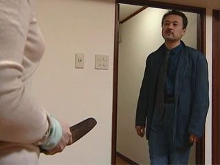 Poor Japanese Wife Triend To Defend From Being  Fucked By Her Neighbor