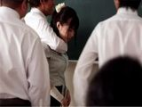 New Japanese Teacher Gets Attacked On Her Fist Day At School By Bunch Of Students