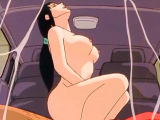 Big Tits Anime Girl Hot Riding Dick In The Car