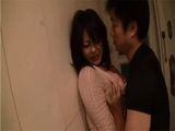 Busty Japanese Housewife Mako Kimura Made A Huge Mistake By Opening The Door